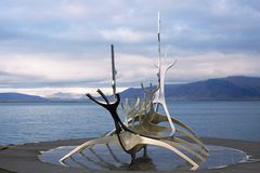 Sun Voyager monument Stock Photos