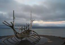 The Sun Voyager Raykjavik, iceland Stock Image