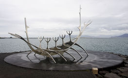 The Sun Voyager In Reykjavik Royalty Free Stock Photo