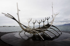 The Sun Voyager In Reykjavik Royalty Free Stock Photography