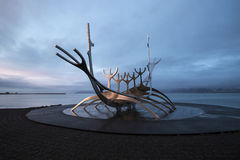 The Sun Voyager in Reykjavik, Iceland Stock Image