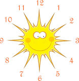 Sun watches, illustration Royalty Free Stock Image