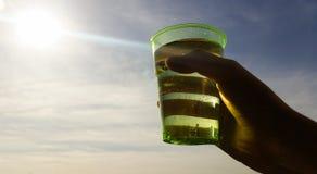 Sun water man Royalty Free Stock Images