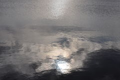 Sun in Water Royalty Free Stock Photo
