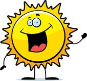 Sun Waving Royalty Free Stock Photos