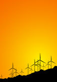 Sun wind sunset Royalty Free Stock Images