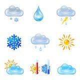 Sun, Wolke und Regen Lizenzfreie Stockfotografie