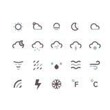 Sun, Wolke und Regen Lizenzfreies Stockfoto