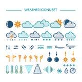 Sun, Wolke und Regen Lizenzfreie Stockbilder