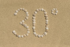 Sun - 30° Royalty Free Stock Image