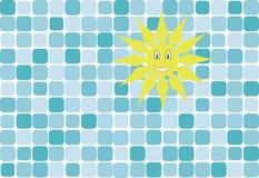 Sun y cielo libre illustration