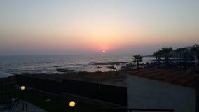 The Sun y el mar Fotos de archivo libres de regalías