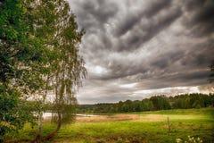 Sun y nubes Fotografía de archivo libre de regalías