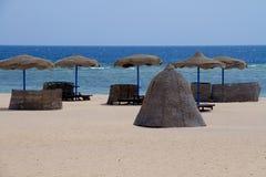 Sun y playa Fotos de archivo libres de regalías