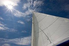Sun y velas 2 Imagenes de archivo