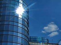 Sun y vidrio Fotografía de archivo libre de regalías