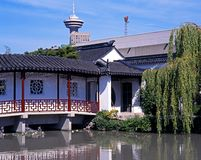Sun Yat-Sen Garden, Vancouver. Royalty Free Stock Image