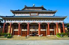 Sun Yat-sen hall commémoratif photographie stock libre de droits