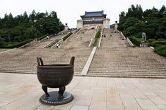 Sun Yat-sen Mausoleum Royaltyfri Bild