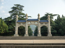 The Sun Yat-sen Mausoleum Royalty Free Stock Images