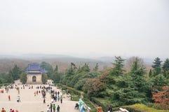 Sun Yat-sen Mausoleum landscape Stock Photography