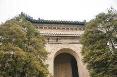 Sun Yat-sen Mausoleum Royalty Free Stock Photography