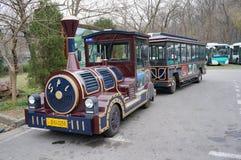 Sun Yat-sen Mausoleum tour bus Royalty Free Stock Photography