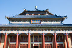 Sun yat-sen memorial hall. The Sun Yat-Sen Memorial Hall is an octagon-shaped building in Guangzhou,Guangdong,China. Sun (1866-1925)was a revolutionary and Stock Photo