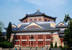 Sun Yat-Sen Memorial Hall. Is situated in Guangzhou,it's of traditional chinese architechture style, looks imperial and brilliant Stock Image