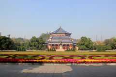 Sun Yat-Sen Memorial Hall, designed by Lu Yanzhi and built with Stock Image