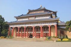 Sun Yat-sen Memorial Hall, door Lu Yanzhi wordt die en wordt gebouwd ontworpen die met Stock Fotografie