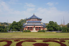 Sun Yat-Sen Memorial Hall in Guangzhou Stock Photos