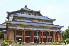 Sun Yat-sen Memorial Hall in Guangzhou, China Stock Photo