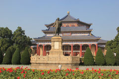 Sun Yat-Sen Memorial Hall in Guangzhou, China Royalty Free Stock Photos