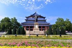 Sun Yat-sen Memorial Hall ist ein Achteck-förmiges Gebäude in Guangzhou, China Lizenzfreies Stockbild