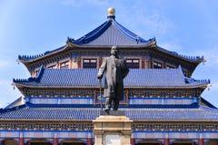Sun Yat-sen Memorial Hall ist ein Achteck-förmiges Gebäude in Guangzhou, China Stockbild