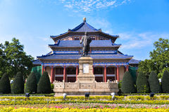 Sun Yat-sen Memorial Hall ist ein Achteck-förmiges Gebäude in Guangzhou, China Stockbild