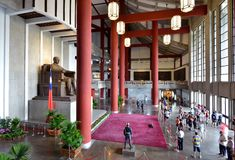 Sun Yat-sen Memorial Hall royalty free stock images