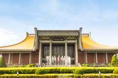 Sun Yat-sen Memorial Hall Temple, Taipei Stock Photography