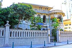 Sun Yat-sen Memorial House, Macau, China Imagem de Stock Royalty Free