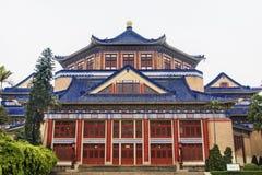 Sun Yat-sen minnes- Guangzhou stadsGuangdong landskap Kina Fotografering för Bildbyråer