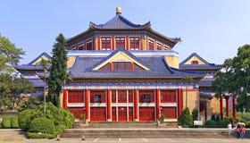 Sun Yat-sen minnes- korridor, guangzhou, porslin Royaltyfri Bild