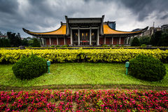 Sun Yat-sen nacional Memorial Hall no distrito de Xinyi, Ta Imagem de Stock Royalty Free