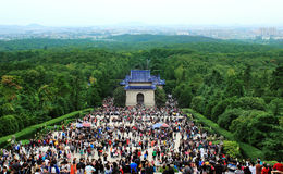Sun yat-sen in nanjing Stock Photo