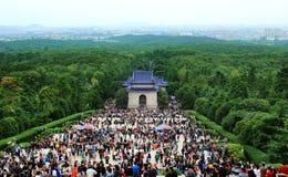 Sun Yat-sen a nanjing Fotografia Stock