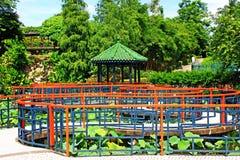 Sun Yat Sen Park, Macau, China. Sun Yat Sen Park is an urban park in Nossa Senhora de Fátima, Macau, China. The park is named for the founding father of the Stock Photos