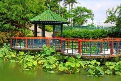 Sun Yat Sen Park, Macau, China. Sun Yat Sen Park is an urban park in Nossa Senhora de Fátima, Macau, China. The park is named for the founding father of the Stock Photography