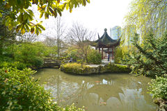 Sun Yat-Sen Public Park in Vancouver Canada. Royalty Free Stock Photos