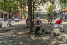 Sun Yat-sen-Quadrat Stockfotos