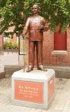 Sun Yat Sen statue in Chinatown, Melbourne Stock Photos